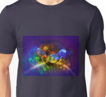 Explorer - colorful digital abstract art by Gordan P. Junior Unisex T-Shirt