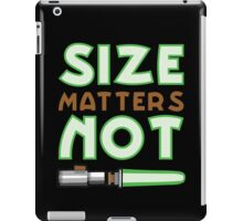 Size Matters Not iPad Case/Skin