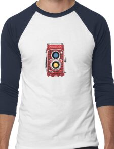 Rollei Men's Baseball ¾ T-Shirt