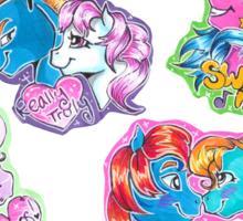 My Little Pony Tales Sticker Sheet Sticker