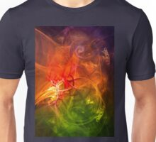 Horseman - colorful digital abstract art by Gordan P. Junior Unisex T-Shirt