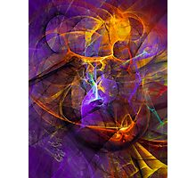 Inspiration - colorful digital abstract art by Gordan P. Junior Photographic Print