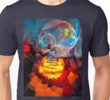 Wizard of Oz - colorful digital abstract art by Gordan P. Junior Unisex T-Shirt