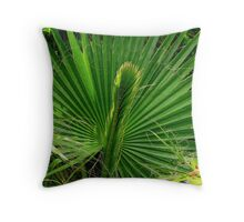 Threads of Gold Throw Pillow