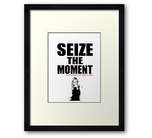 Buffy the Vampire Slayer Seize the Moment Framed Print