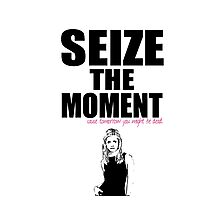 Buffy the Vampire Slayer Seize the Moment Photographic Print