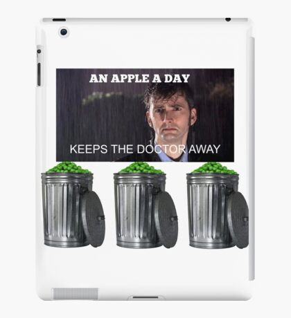 An Apple a Day Keeps the Doctor Away ;( iPad Case/Skin