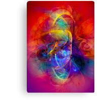Gladiator - colorful digital abstract art by Gordan P. Junior Canvas Print