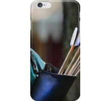 """ Cupid Laid Off ""....unemployement is hitting everywhere  iPhone Case/Skin"