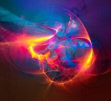 Miracle - colorful digital abstract art by Gordan P. Junior by gp-art