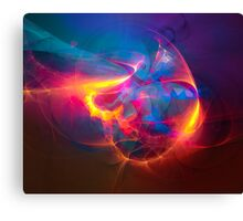 Miracle - colorful digital abstract art by Gordan P. Junior Canvas Print