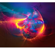 Miracle - colorful digital abstract art by Gordan P. Junior Photographic Print