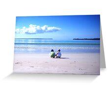 collingwood beach Greeting Card