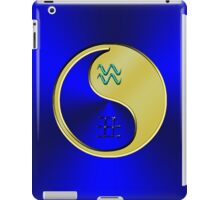 Aquarius & Ox Yin Metal iPad Case/Skin