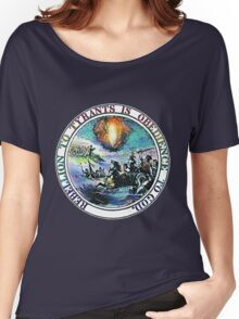 Rebellion To Tyrants Is Obedience To God Women's Relaxed Fit T-Shirt