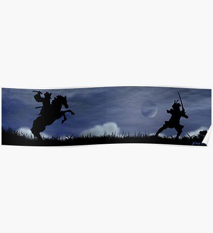 Dueling Samurai Poster