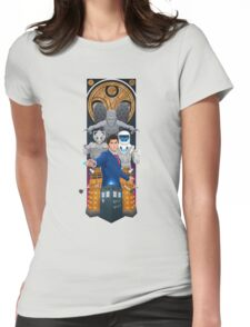 Time Lord Victorious Womens Fitted T-Shirt