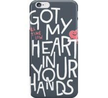 All Time Low Got My Heart Quote iPhone Case/Skin