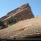 Red Rock Amphitheatre - Colorado by Anthea  Slade