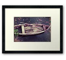 Sunken Dreams Framed Print