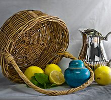 Still life with lemons by amko