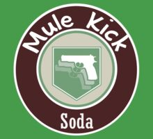 Mule Kick Perk-A-Cola Label by TBoneCaputo