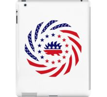 Libertarian Murican Patriot Flag Series iPad Case/Skin