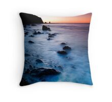 Jelly Bean Rumble at Dusk Throw Pillow