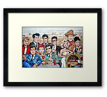 Painting the Past Framed Print