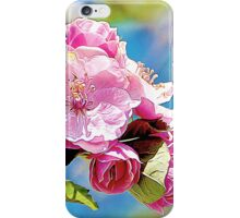 Spring into Bloom Matching Print iPhone Case/Skin