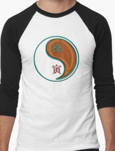Aquarius & Tiger Yang Wood Men's Baseball ¾ T-Shirt