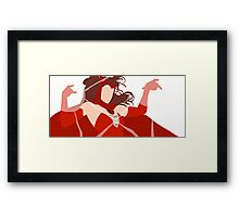 Scarlet Witch (Simplistic)  Framed Print