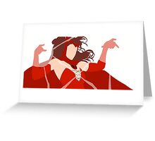 Scarlet Witch (Simplistic)  Greeting Card
