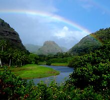 Waimea Valley in a Dream by Lesley Ortiz