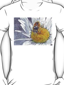 The Hoverfly and the Daisy T-Shirt