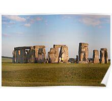 Stonehenge: Wiltshire UK Poster