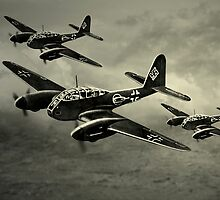 Flight of the Luftwaffe by Steven  Agius