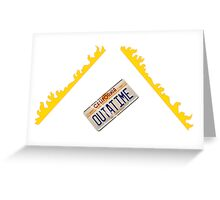 OUTATIME Greeting Card