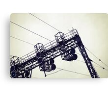 the commuter Canvas Print