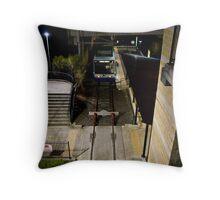 Lilyfield Light Rail station Throw Pillow