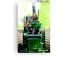 small scale steam Canvas Print