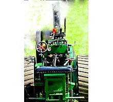 small scale steam Photographic Print