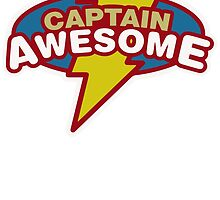 Captain Awesome Funny cool by yandi05