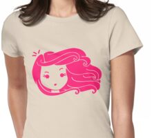 It's a windy day Womens Fitted T-Shirt