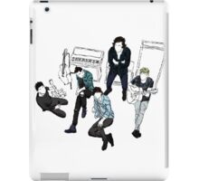 one direction group [2, dark] iPad Case/Skin