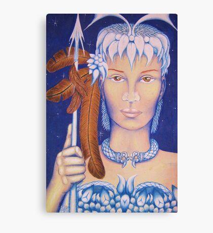 Spear Maid Canvas Print
