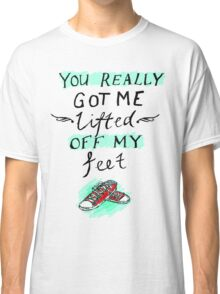 lifted off my feet (illusion) Classic T-Shirt