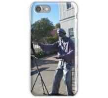 Charles Meryon Statue iPhone Case/Skin