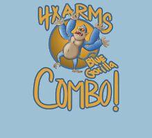 4x Arm Blue Gorrila Combo! Unisex T-Shirt