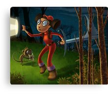 Alicia's adventure Canvas Print
